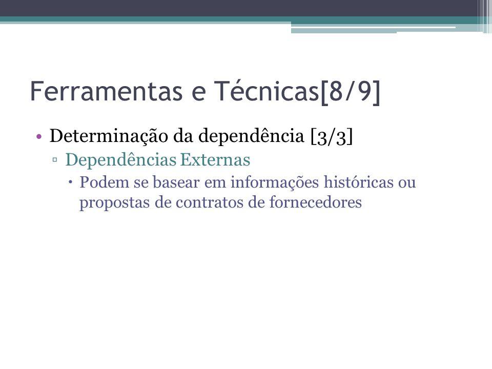 Ferramentas e Técnicas[8/9]